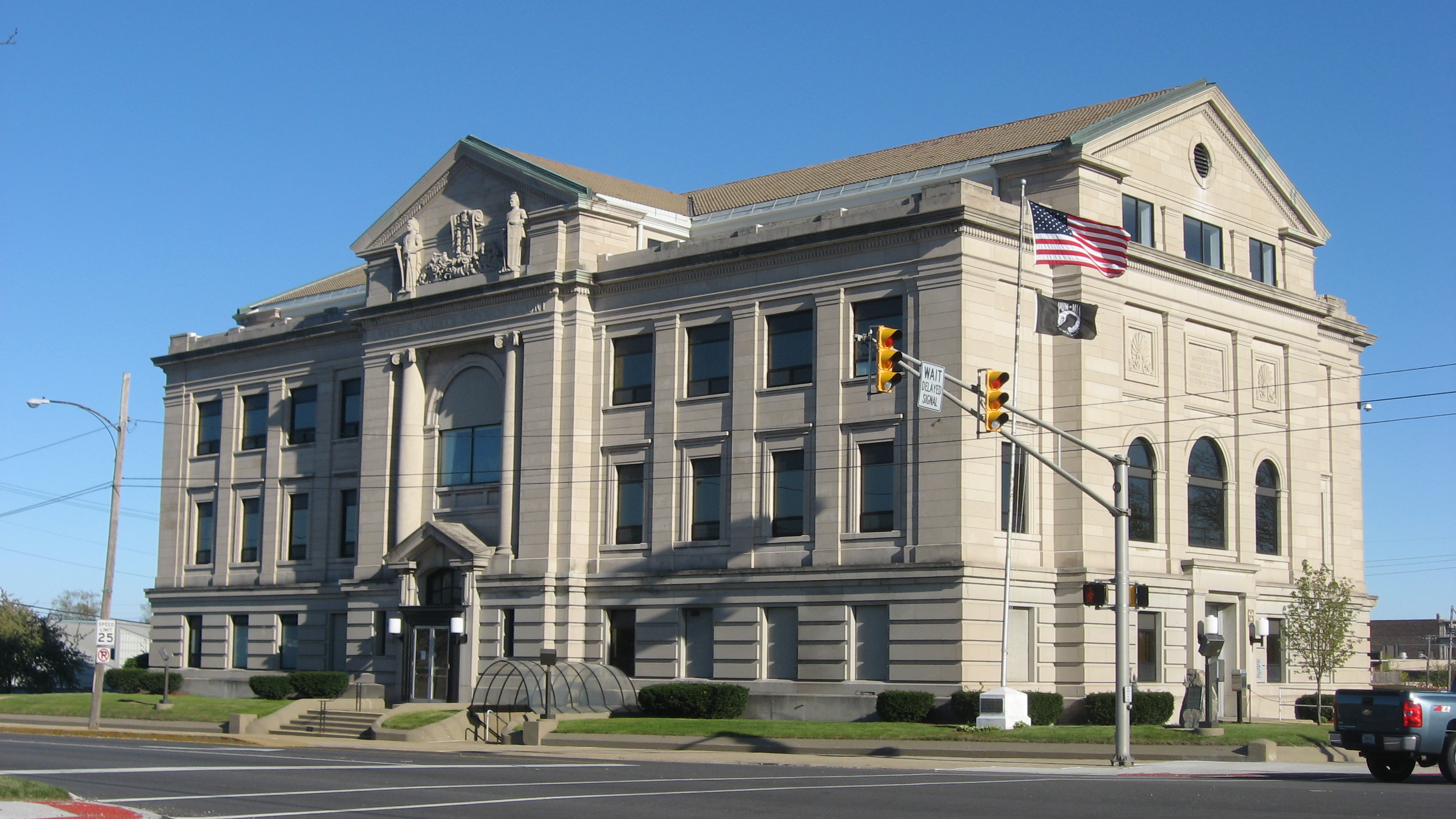 Laporte county online government for Laporte courthouse