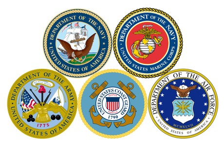 US Military Branches Symbols