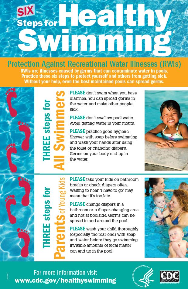Six Steps to Healty Swimming